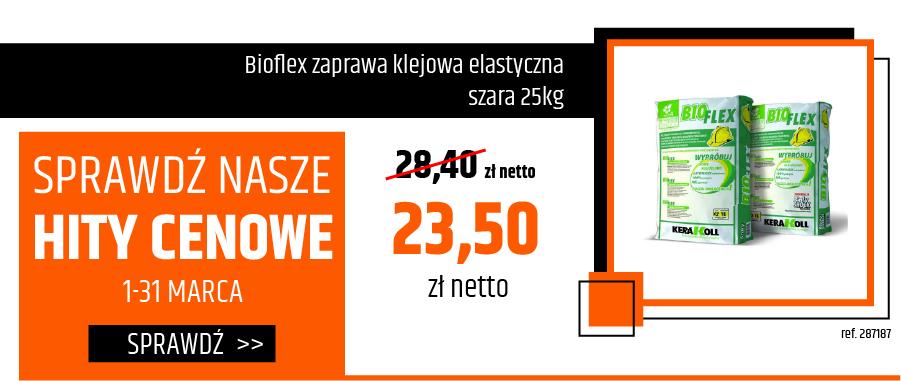 Kerakoll Bioflex zaprawa klejowa elastyczna szara 25kg