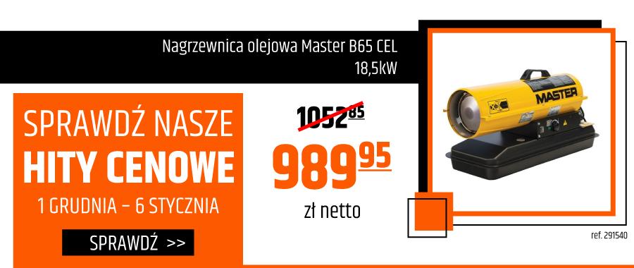 Nagrzewnica olejowa Master B65 CEL 18,5kW