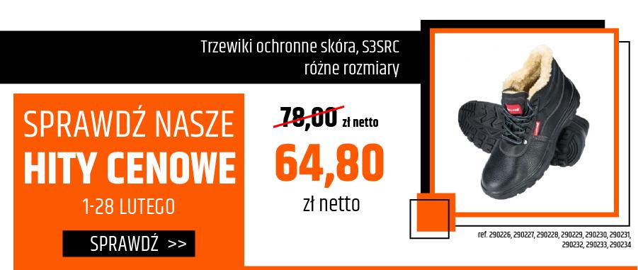 Trzewiki ochronne skórzane S3SRC