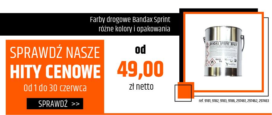 Farby drogowe Bandax Sprint