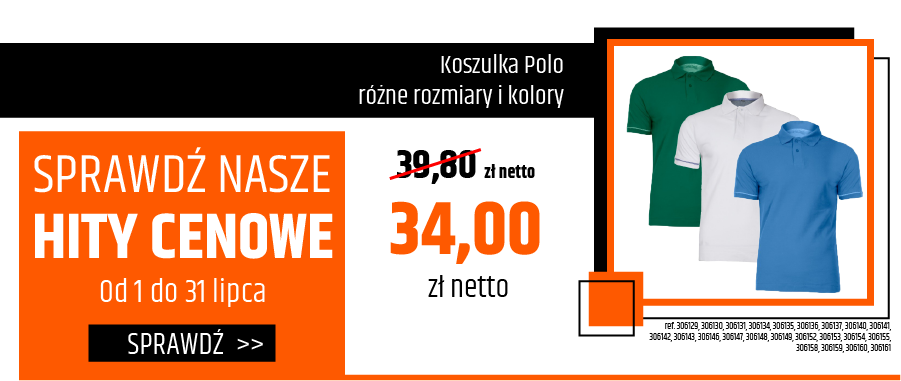 Koszulka Polo - różne rozmiary i kolory