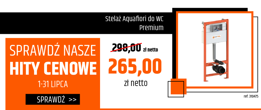 Stelaż Aquafiori do WC Premium