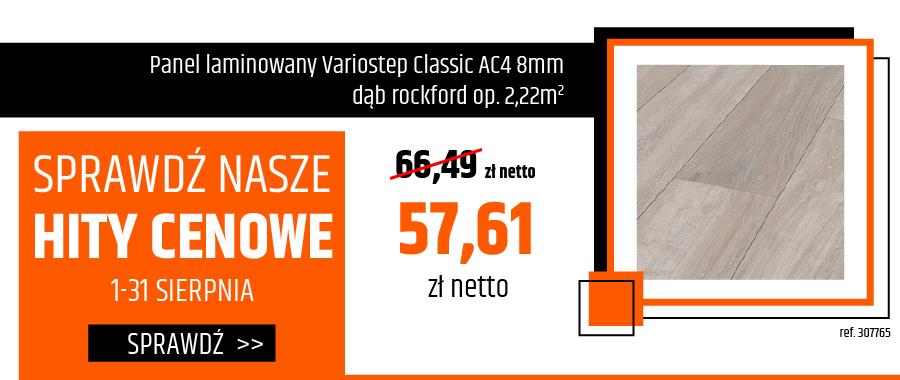 Panel laminowany Variostep Classic AC4 8mm dąb rockford op.2,22m2
