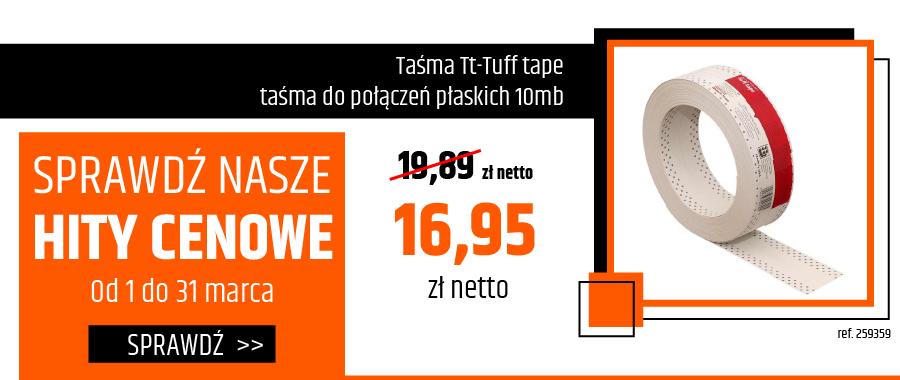 Taśma Tt-Tuff tape taśma do połączeń płaskich