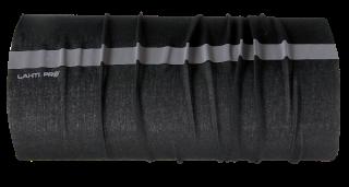 Chusta wielofunkcyjna z pasem odblaskowym czarna
