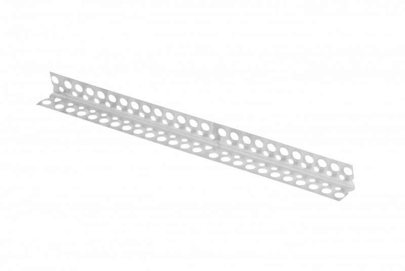 NAROŻNIK ALUM.PERFOR.23,5x23,5mm/3,0m RIG