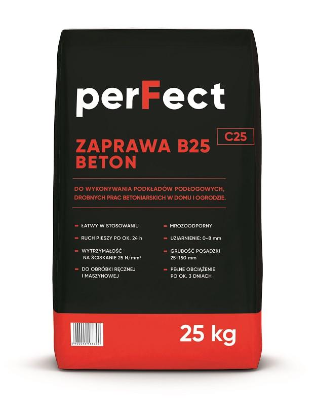 ZAPRAWA BETONOWA BETON B25 25kg PERFECT