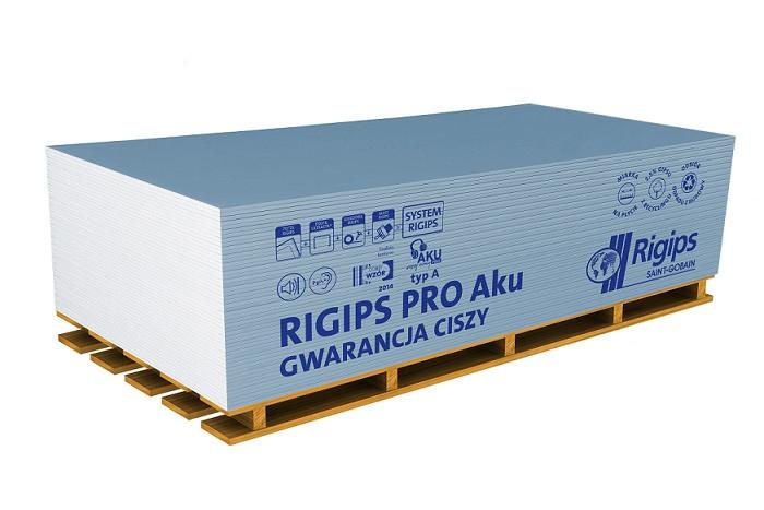 PŁYTA GKB PRO AKU typ A 12,5x1200x2000 RIG