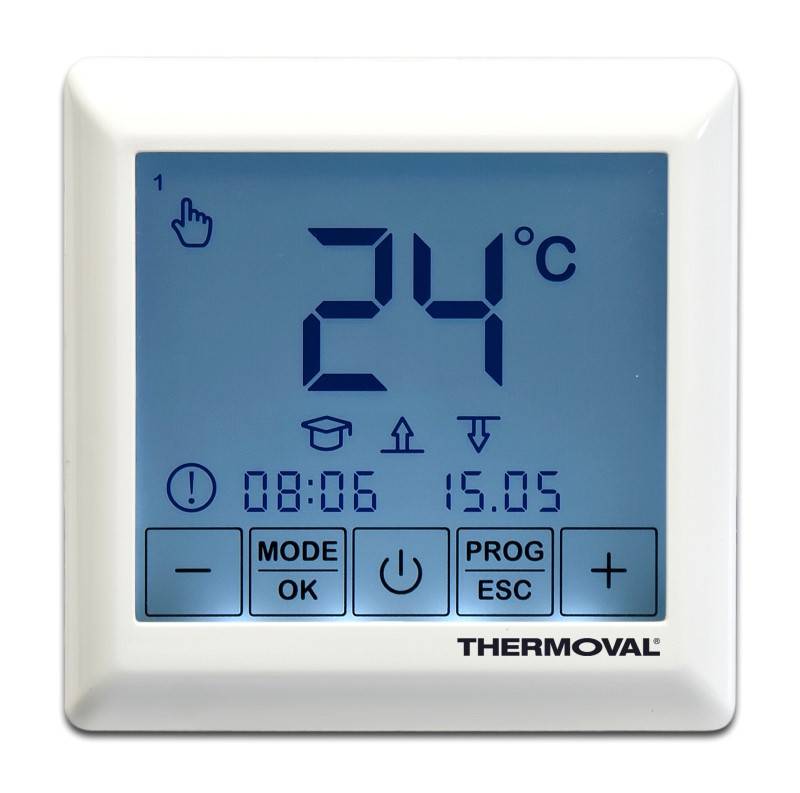 Regulator temperatury SE 200 programowalny podtynkowy