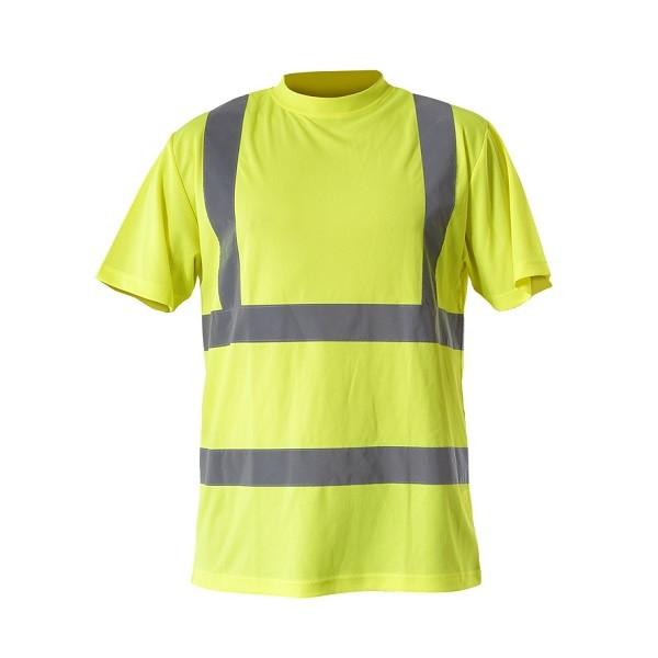 Koszulka ostrzegawcza 2XL żółta