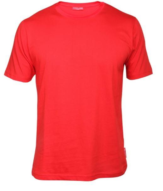Koszulka T-shirt 180g/m2, czerwona M