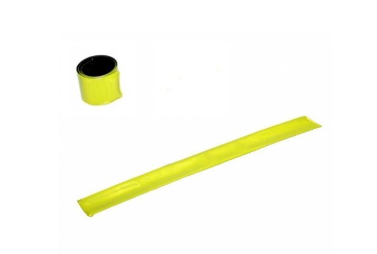 Opaska odblaskowa 3x34cm żółta