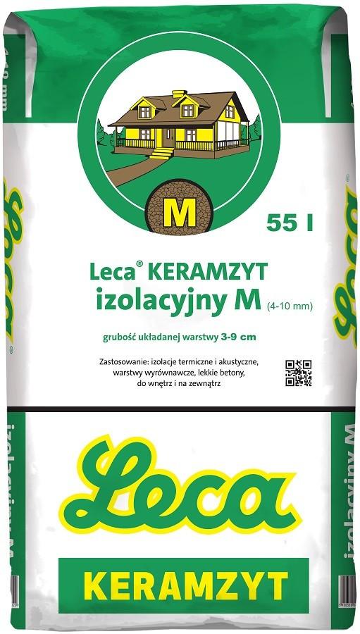 KERAMZYT IZOLACYJNY M 4-10mm 55L/18kg WEB