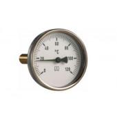 "Termometr  bimetaliczny 120°C BiTh 63, fi63 mm, G1/2"" ax"