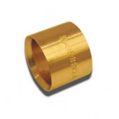 Pierścień mosiężny Push pełny 18x2A