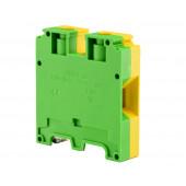 Złączka szynowa gwintowa ochronna 35,0mm2 TS 35 żółto-zielony
