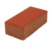 Bruk kostka cegiełka czerwona 10x20 grubość 6cm