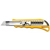 Nóż uniwesralny z ostrzem łamanym 18mm metalowy Hardy