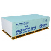Płyta gipsowo-kartonowa Rigips Pro Hydro typ H2 GKBI 12,5 120x200cm