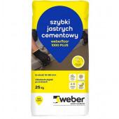 Jastrych cementowy Weber Floor 1000 PLUS 10-100mm 25kg