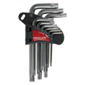 Zestaw 9 szt kluczy Torx T10-T50
