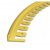 Listwa do łuków mosiężna L 10mm 250cm