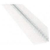Narożnik aluminiowy z siatką 25x25 długoć 2,5m