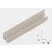 Rigips Quick-Lock profil schodkowy dł.3m biały