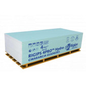 Płyta g-k Rigips 4Pro Hydro typ H2 GKBI 12,5 120x200cm