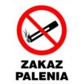 """Tablica informacyjna """"Zakaz palenia"""""""
