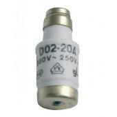Wkładka zwłoczna D0 D02/E18 20A 400V gG