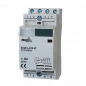 Stycznik modułowy BC201 4P 25A typ 13