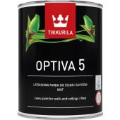 FARBA LATEKS. OPTIVA MAT 5 /A 0,9L TIK
