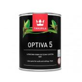 Farba lateksowa Optiva Mat 5 baza C 0,9l