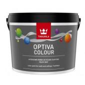 Farba lateksowa Optiva Colour baza AP 0,9l
