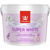 FARBA LATEKS. SUPER WHITE 10L TIK