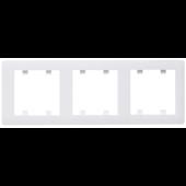 Lumina2 ramka 3-krotna pionowa biała