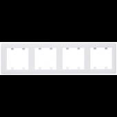 Lumina2 ramka 4-krotna pionowa biała