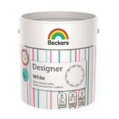 Beckers Designer mat White 2,5l farba lateksowa