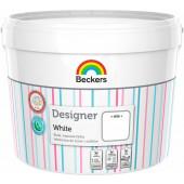 Beckers Designer mat White 10l farba lateksowa