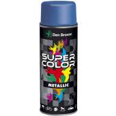 SuperColor lakier metaliczny 400ml czarny