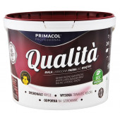 Farba lateksowa Qualita 10l biała