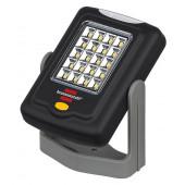 Lampa uniwersalna 20+3 LED SMD z pałąkiem