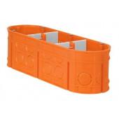 Puszka instalacyjna M3x60F Multiwall IP20 pomarańczowa