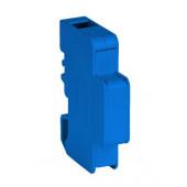 Blok rozdzielczy jednobiegunowy EBR60A niebieski