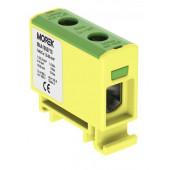 Złączka gwintowa AL/CU/ 1,5 - 50 mm2 TS35 żółto-zielony