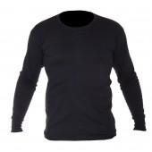 Koszulka zimowa 2XL z długim rękawem czarna