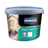 Farba elewacyjna akrylowa Nobilit Biały Plus 0,9l