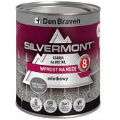 Farba Silvermont do metalu 0,7l antracyt młotkowy RAL9007