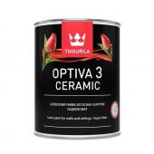Farba lateksowa Optiva Ceramic 3 baza A 0,9l